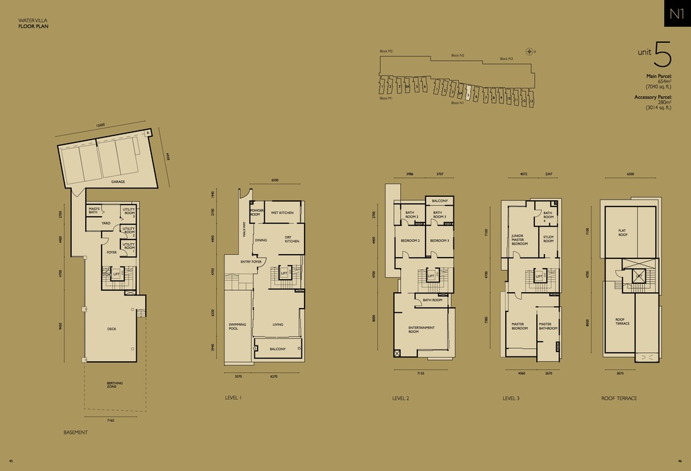 The Light Collection IV N1-05 Floor Plan