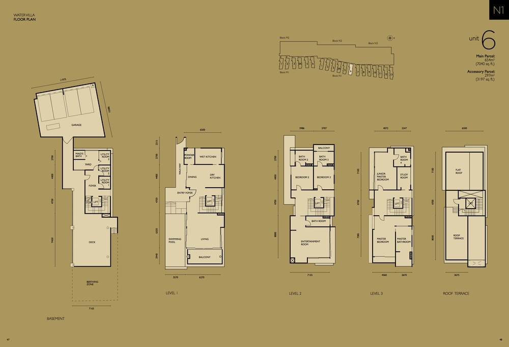 The Light Collection IV N1-06 Floor Plan