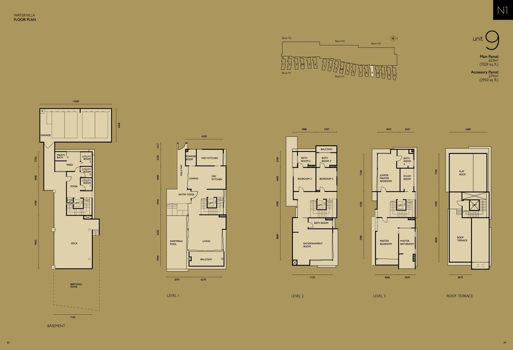 The Light Collection IV N1-09 Floor Plan