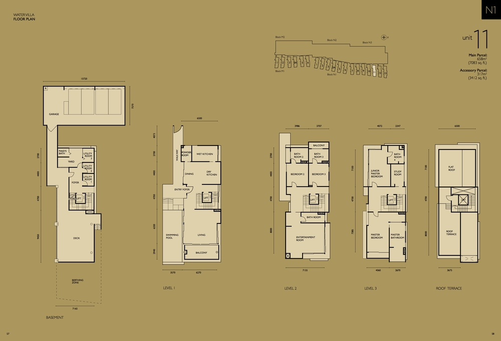 The Light Collection IV N1-11 Floor Plan