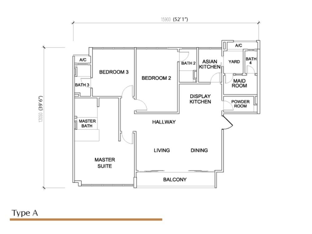 Sé Terra Type A Floor Plan