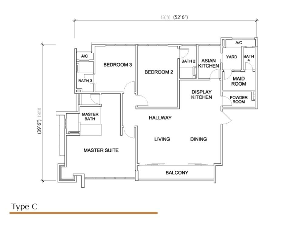 Sé Terra Type C Floor Plan