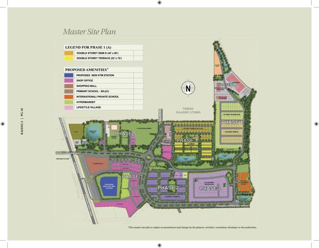 Master Plan of Kajang 2