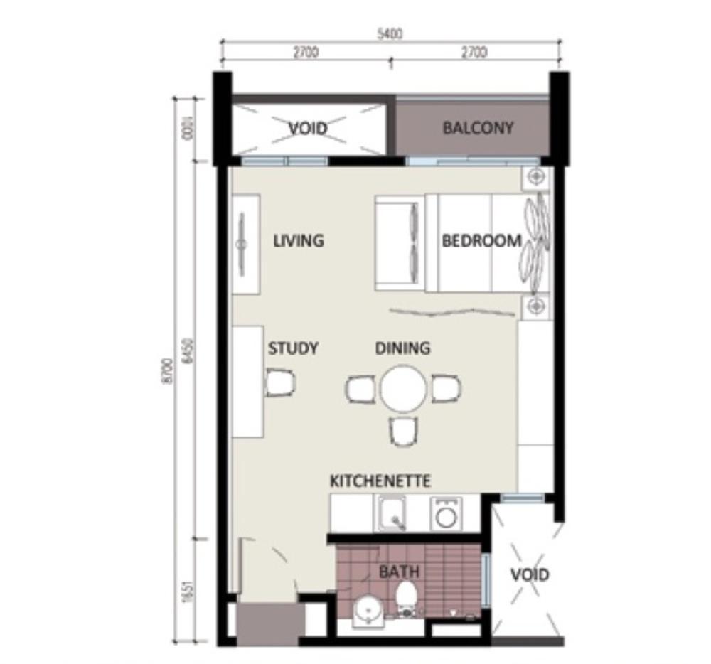 CyberSquare Type B Floor Plan