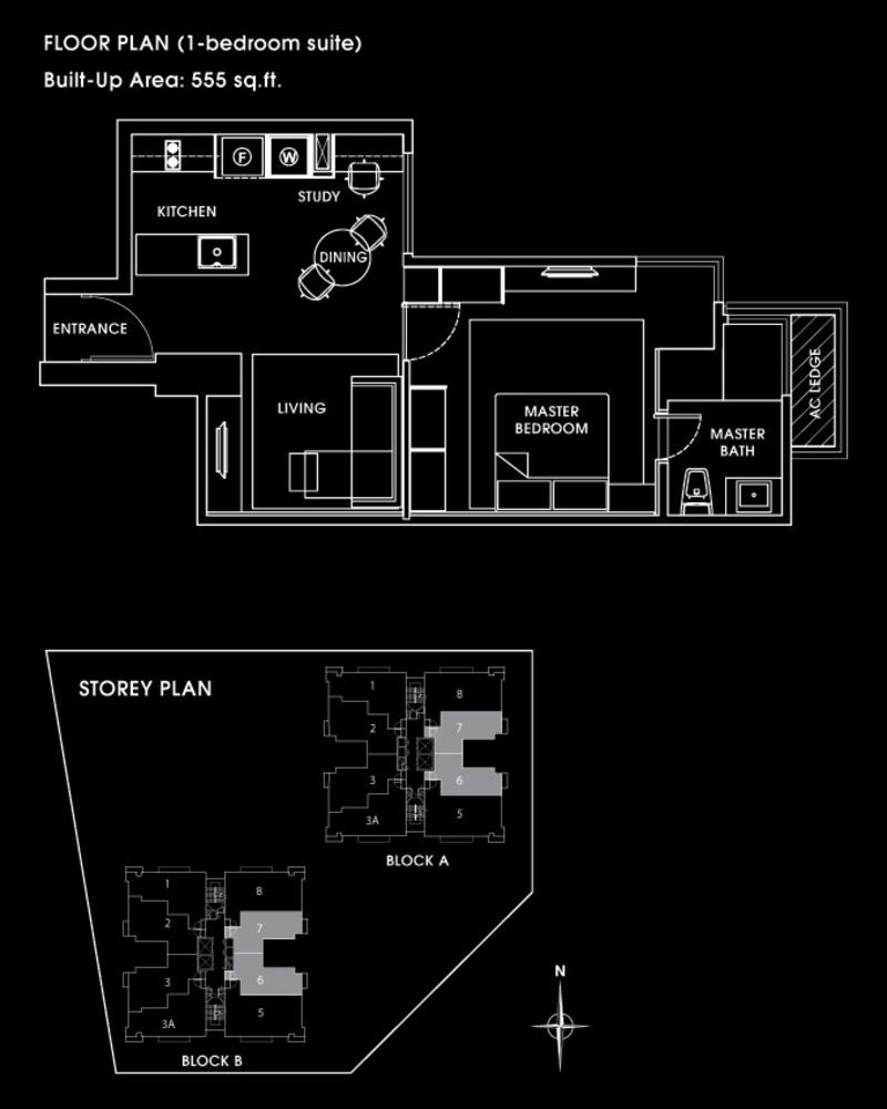 VERVE Suites Terra Spring Floor Plan