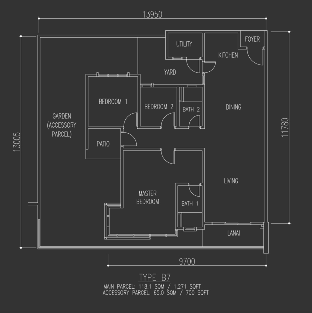 Selayang 18 Type B7 Floor Plan