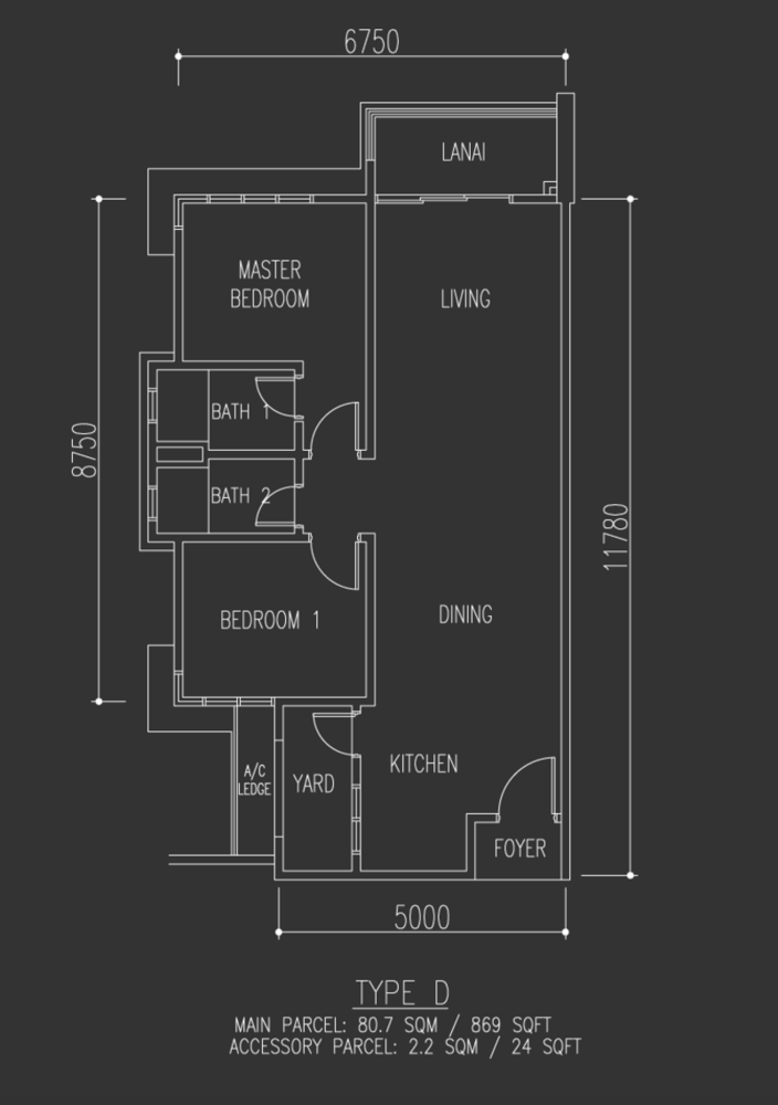 Selayang 18 Type D Floor Plan