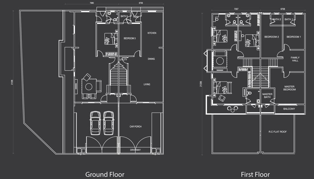 Nada Alam Nada 1 - Type A Floor Plan