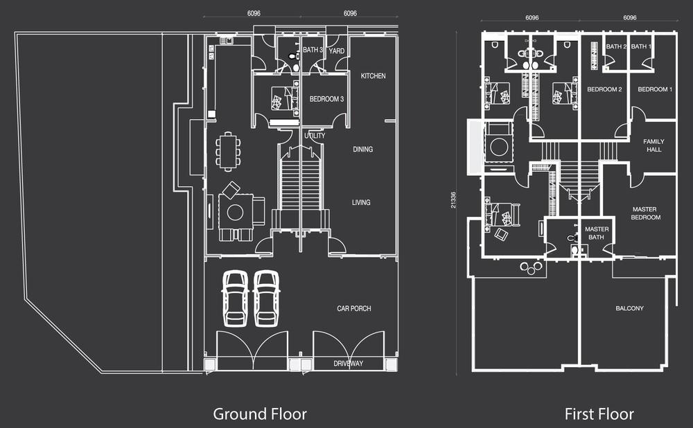 Nada Alam Nada 1 - Type B Floor Plan