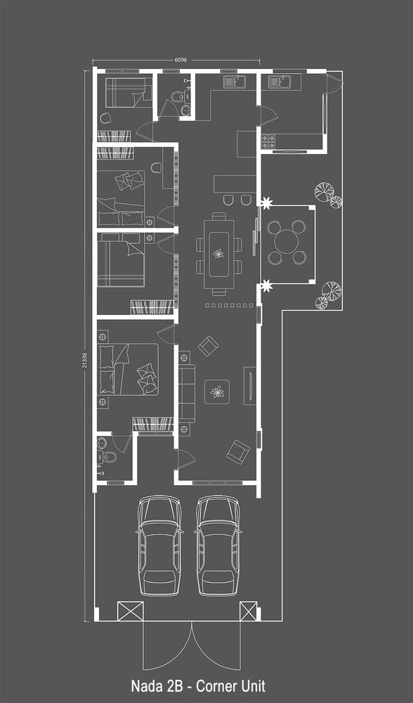 Nada Alam Nada 2 - Single Storey Terrace Floor Plan