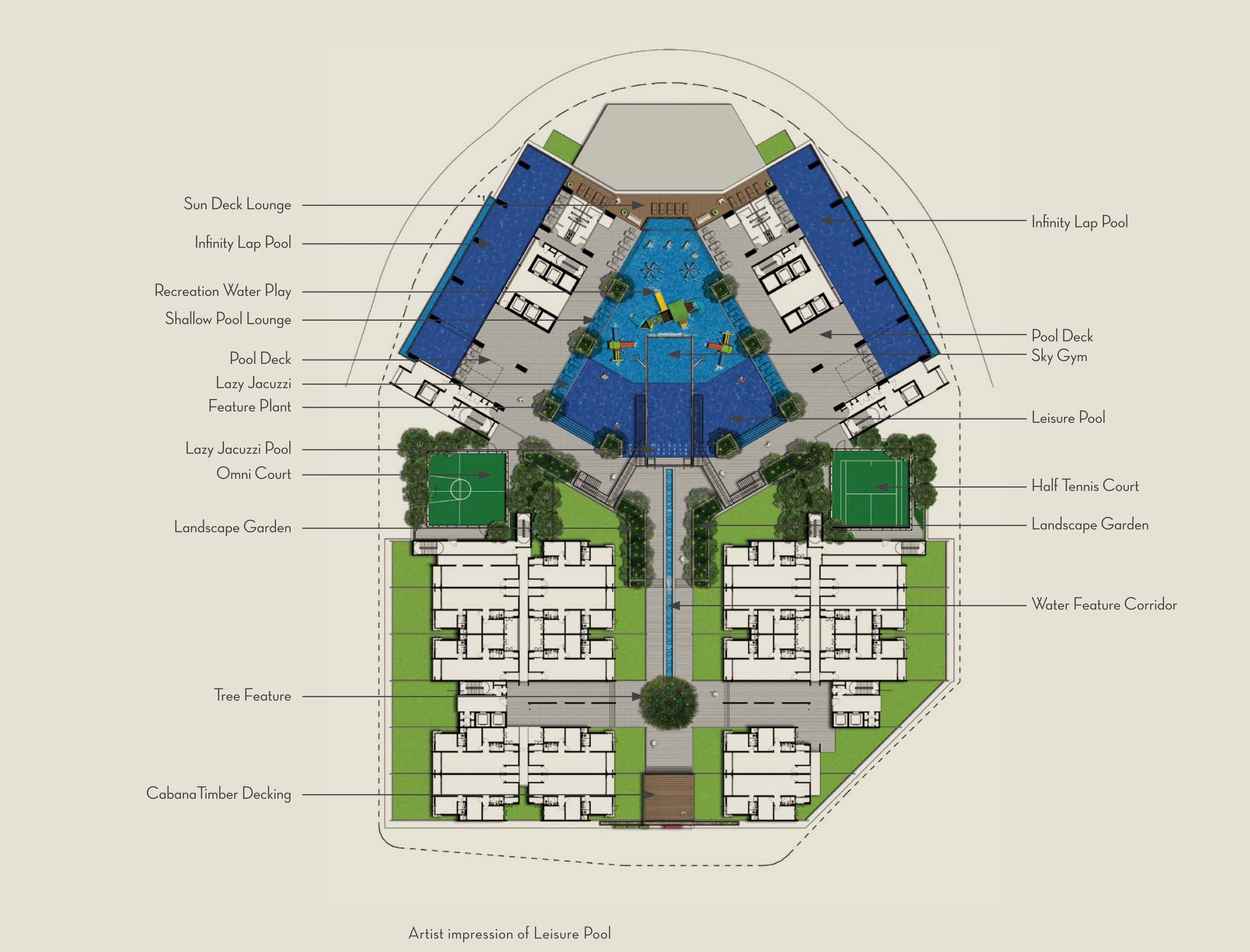 Site Plan of The Shore