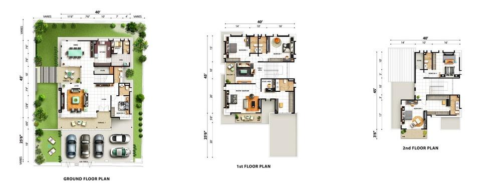 Tropicale Residency Tara Floor Plan