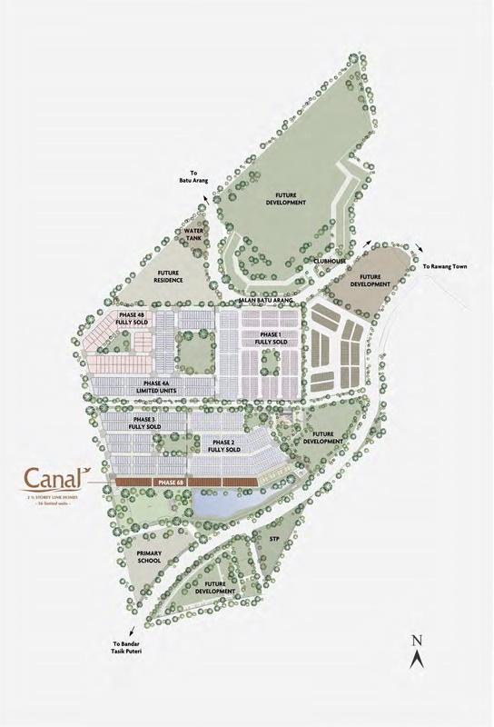 Master Plan of M Residence