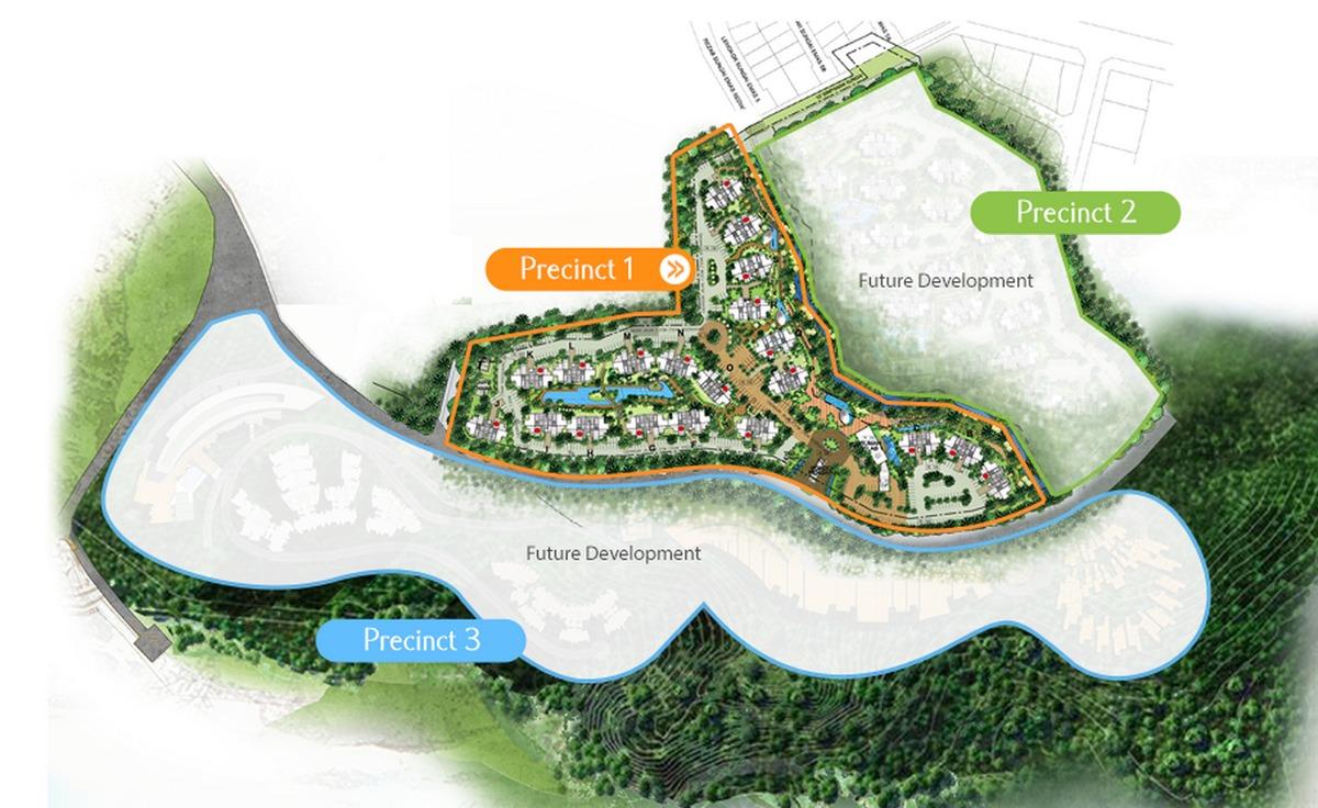 Master Plan of Ferringhi Residence