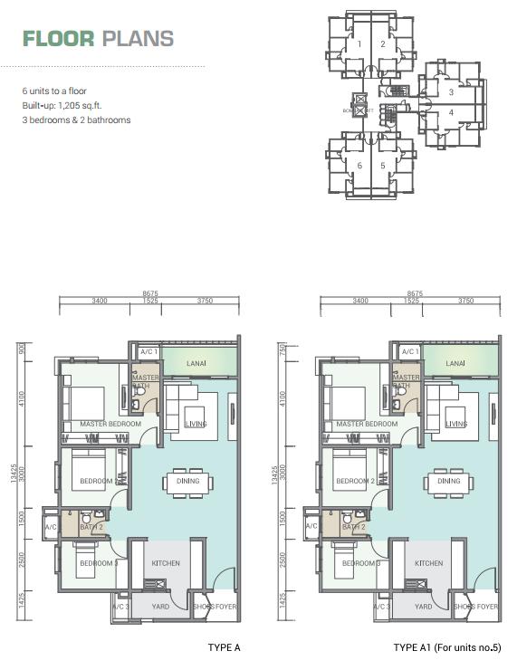 Site Plan of Tamara