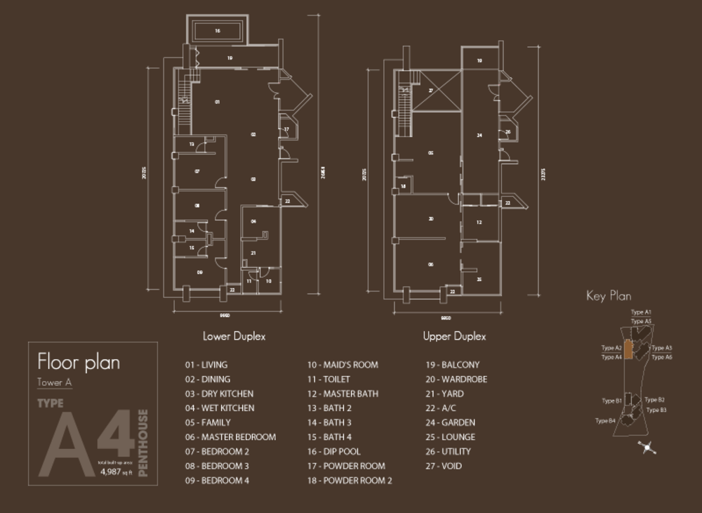 Setia V Residences Type A4 Floor Plan