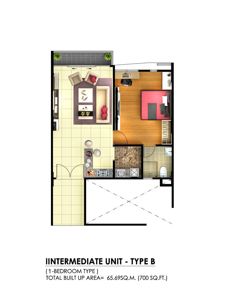 Tambun Royale City Royale Infinity - Type B Floor Plan