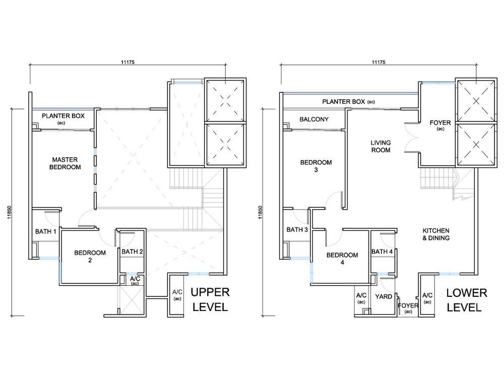 QuayWest Residence Type E1 Floor Plan