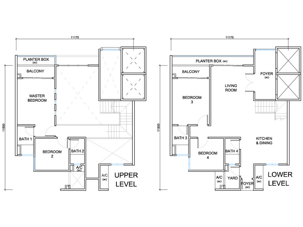 QuayWest Residence Type E2 Floor Plan