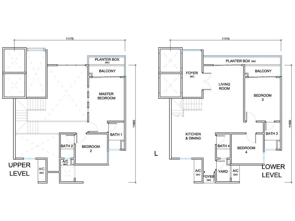 QuayWest Residence Type E3 Floor Plan