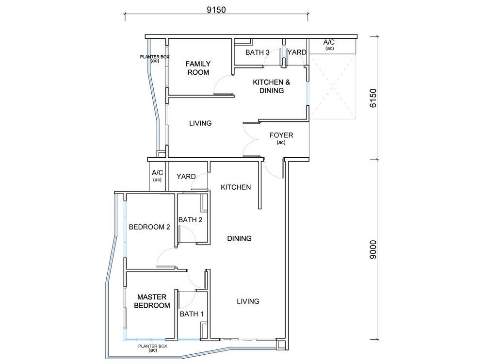 QuayWest Residence Type G Floor Plan