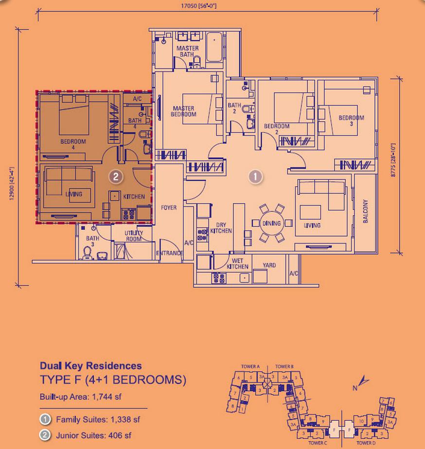 Site Plan of You Vista @ You City