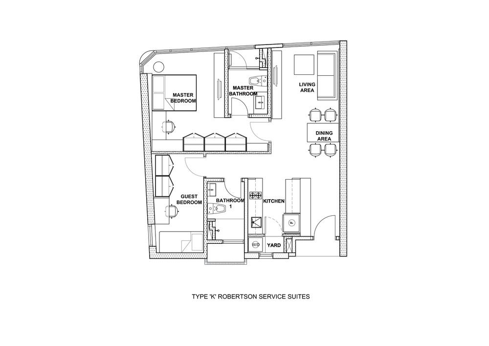 The Robertson Type K Floor Plan