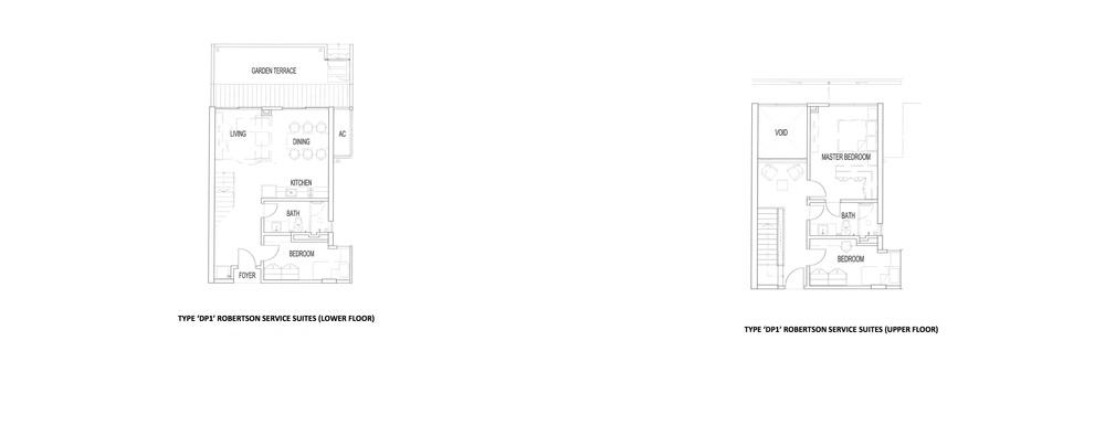 The Robertson Type DP1 Floor Plan
