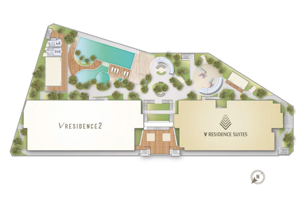 Master Plan of V Residence 2 @ Sunway Velocity