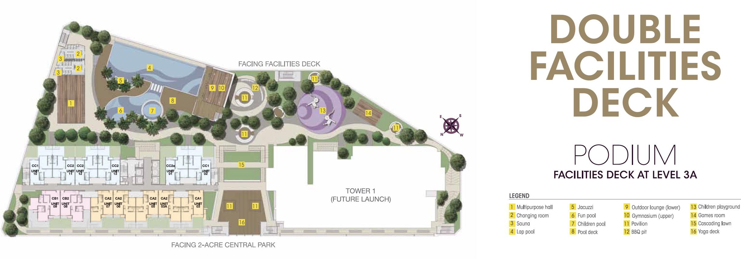 Site Plan of V Residence 2 @ Sunway Velocity
