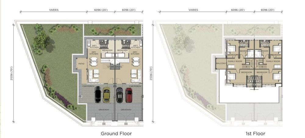 Pines Pines 1 Floor Plan