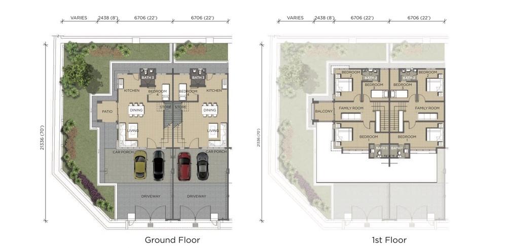Pines Pines 2 Floor Plan