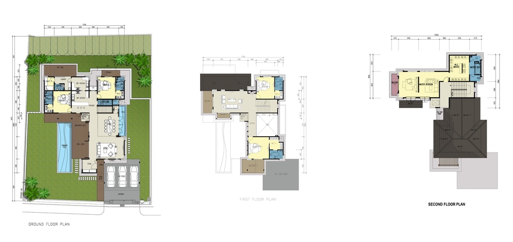 Botanica 4 Lanaya (Type A) Floor Plan