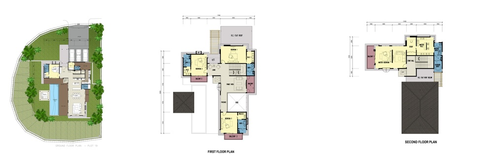 Botanica 4 Leilani (Type E) Floor Plan