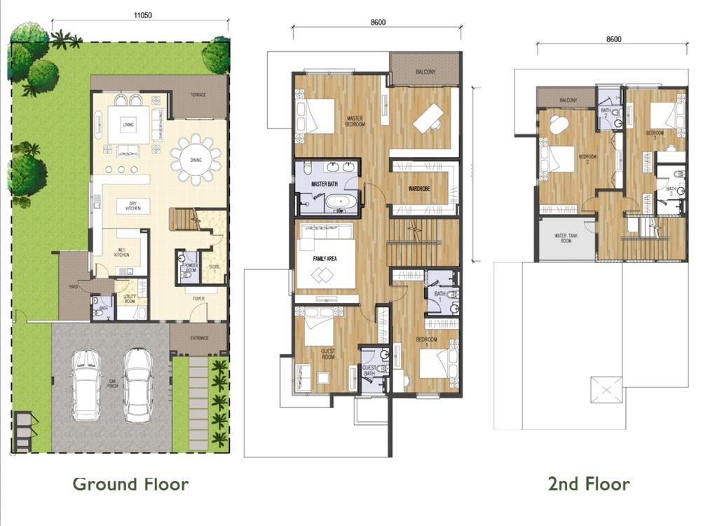Tijani Ukay Type A Floor Plan