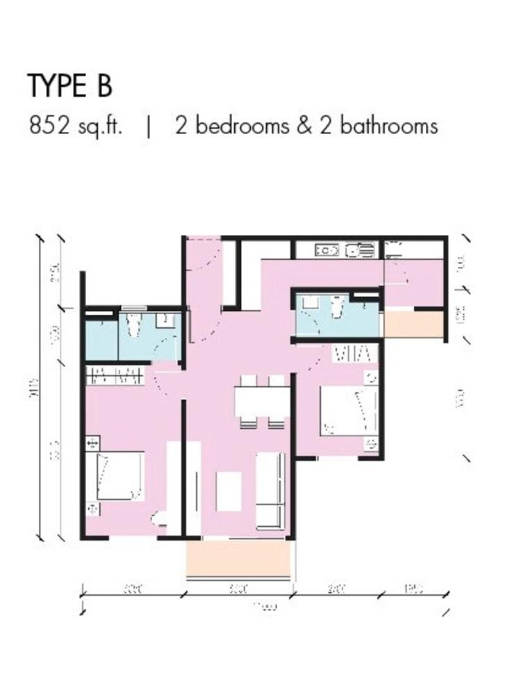 CitiZen Type B Floor Plan