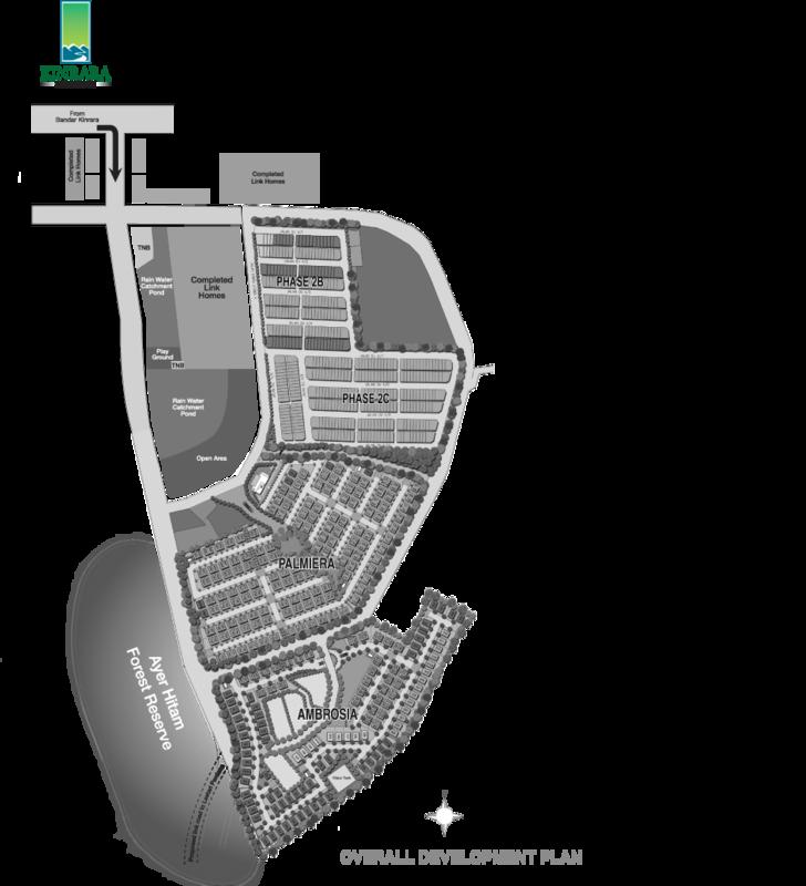 Master Plan of Kinrara Residence