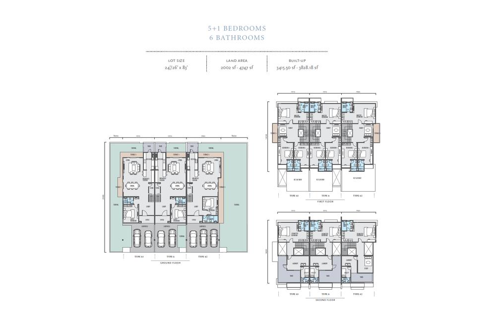 Bayan Type A/A1/A2 Floor Plan