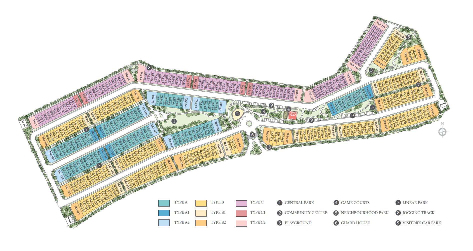 Site Plan of Bayan