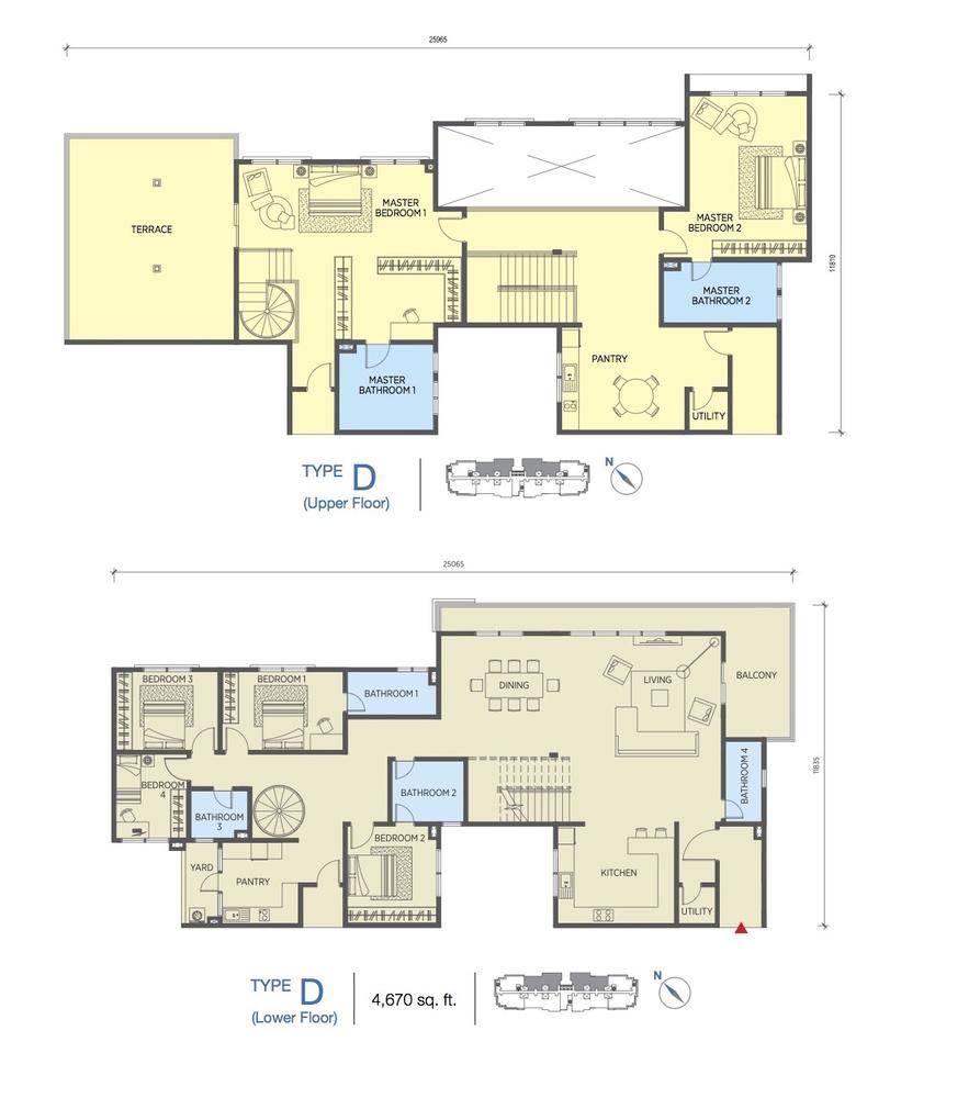Saville @ Cheras Type D Floor Plan