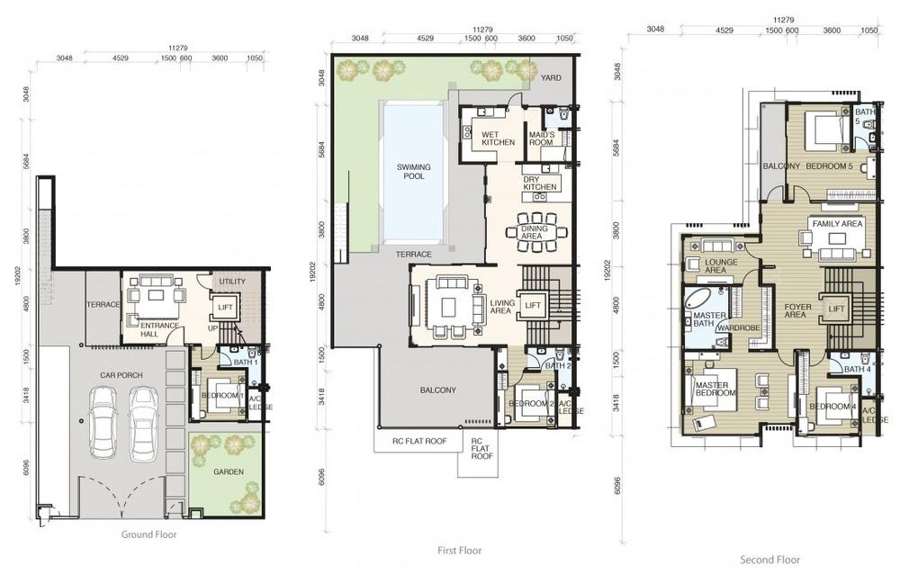Tamarind @ Puteri Heights Type A Floor Plan