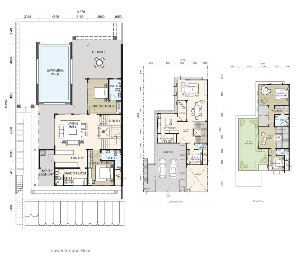 Tamarind @ Puteri Heights Type B Floor Plan
