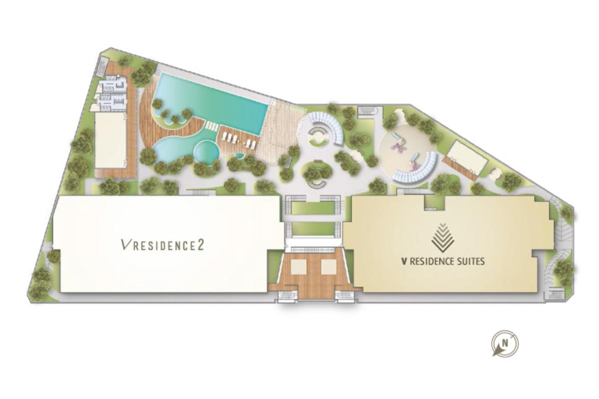 Master Plan of V Residence Suites @ Sunway Velocity
