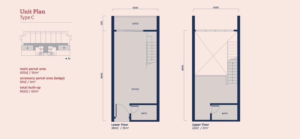 Emporis Type C Floor Plan