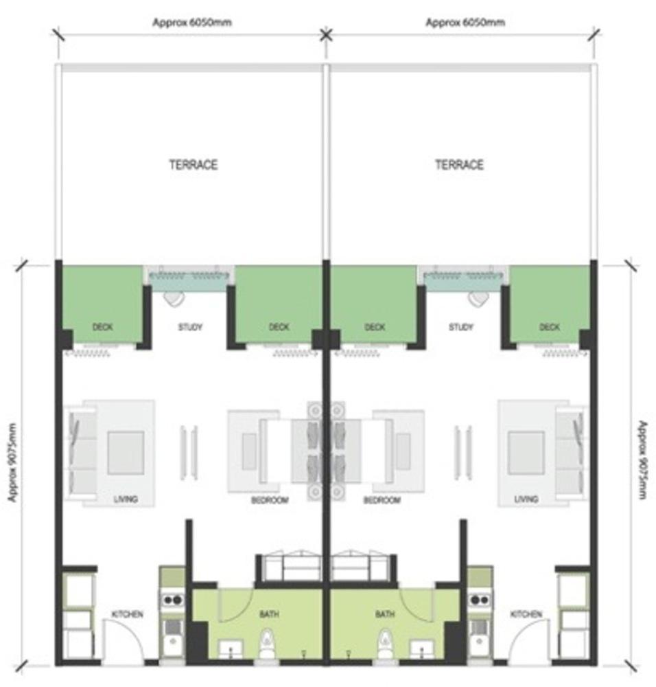 Nadayu63 Type A1a/A1b Floor Plan