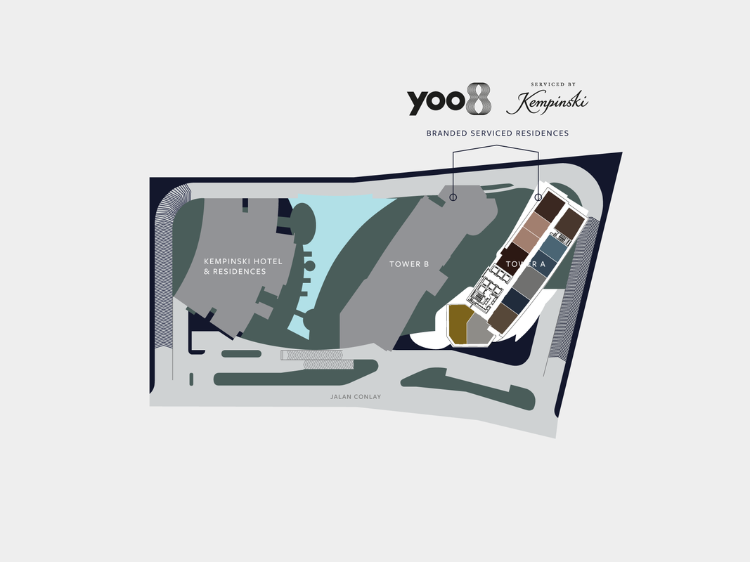 Master Plan of YOO8 serviced by Kempinski @ 8 Conlay