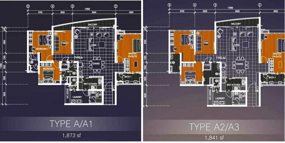 Casa Green Type A Floor Plan