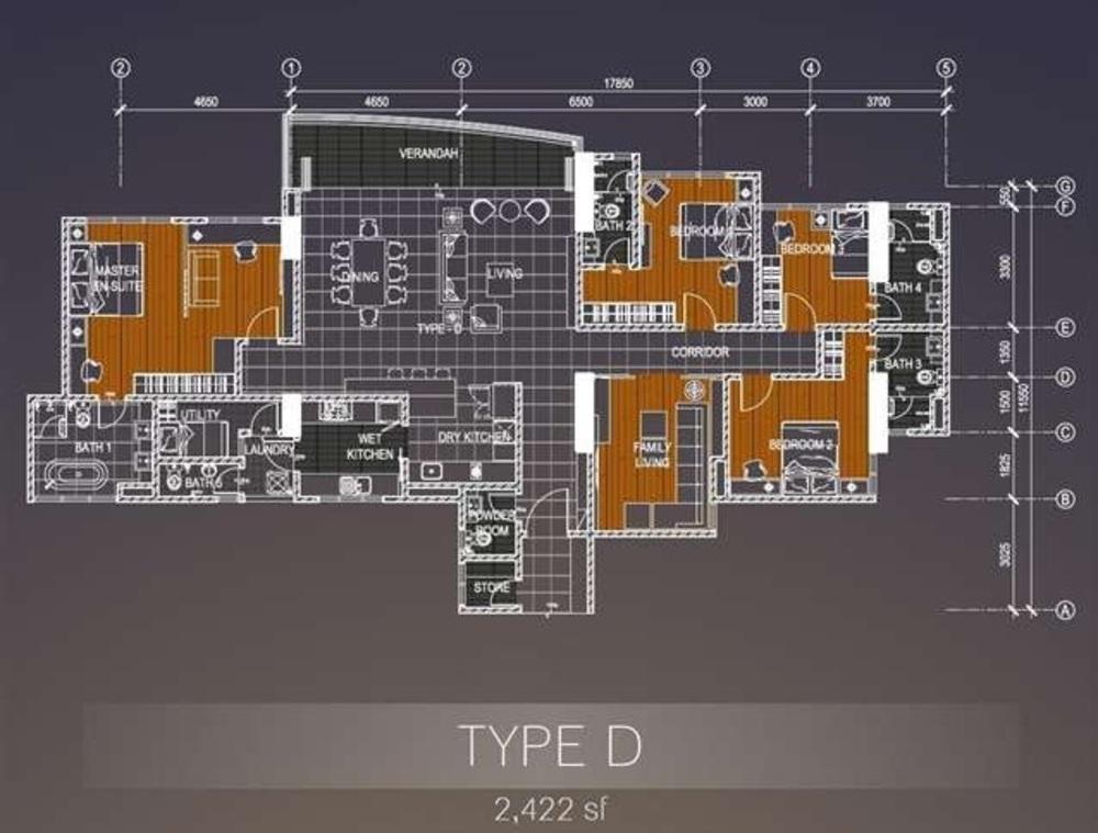 Casa Green Type D Floor Plan