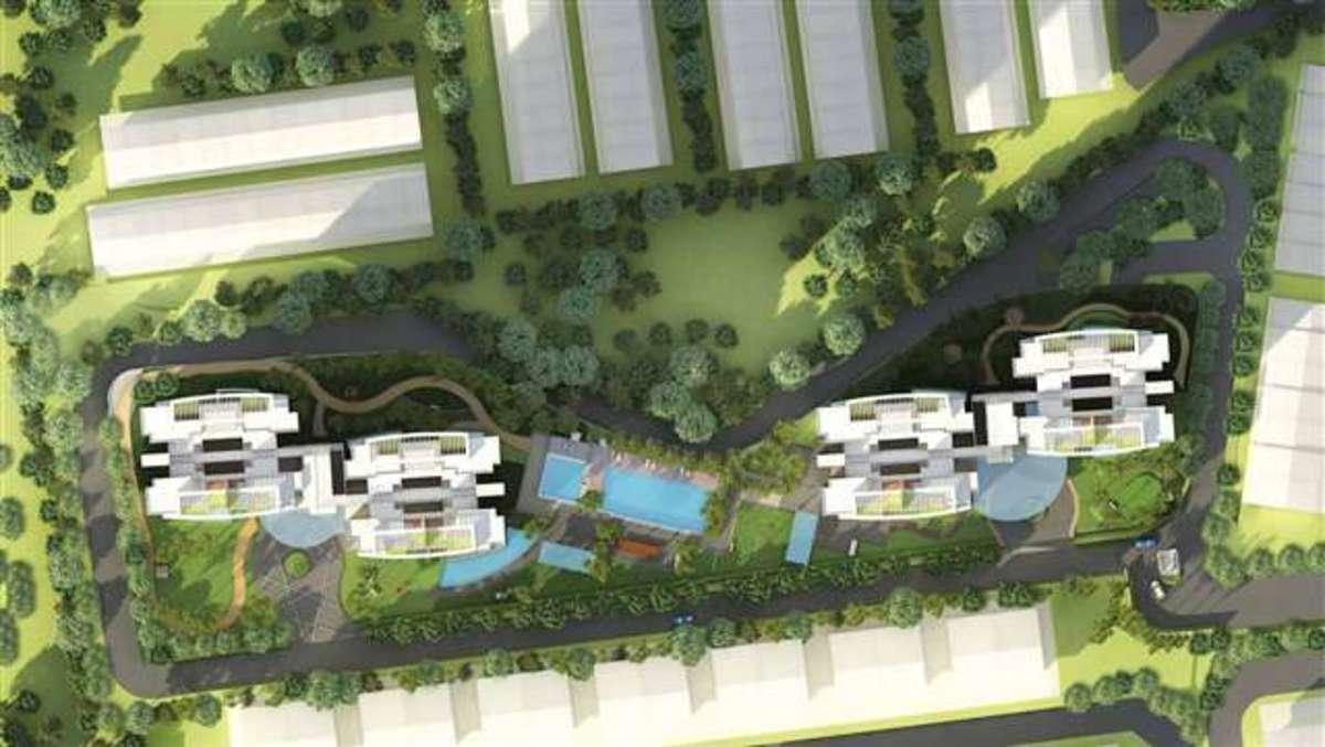 Master Plan of Casa Green