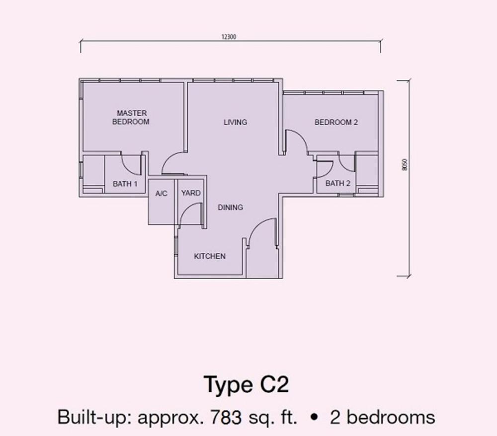 Conezión Type C2 Floor Plan